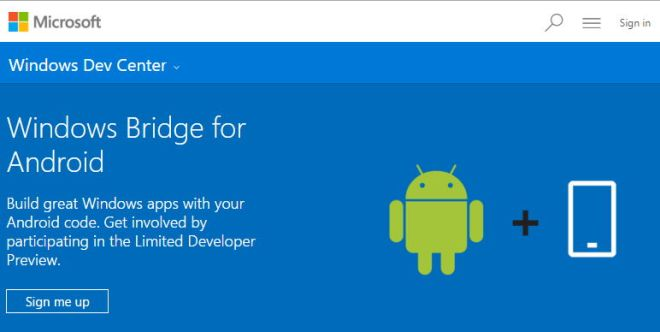 Windows-Bridge-for-Android