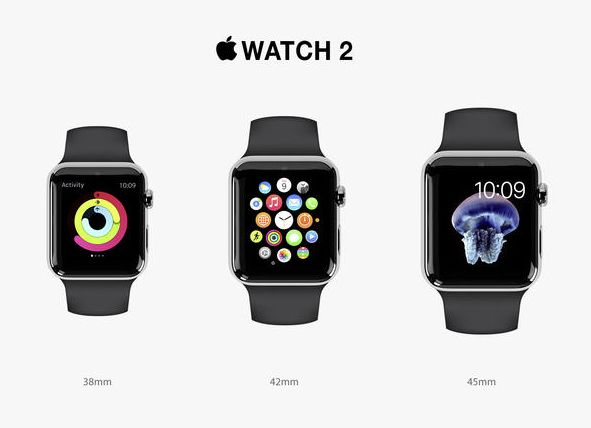 Apple Watch 2 sau Watch S - concept de design