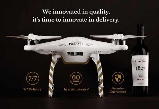 purcari drona