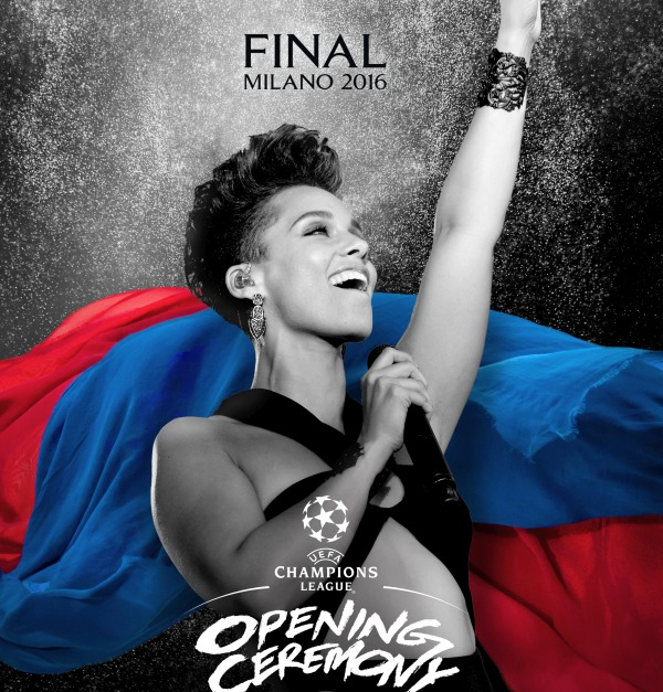 Alicia Keys_UEFA Champions League Final