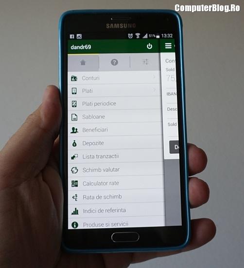 Aplicația mobilă CEC Bank