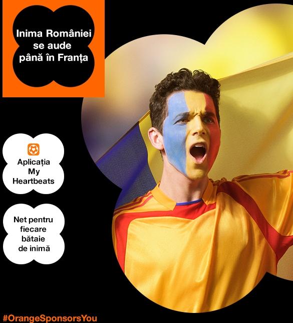 Aplicatie Profero pentru Orange - My Heartbeats for Football