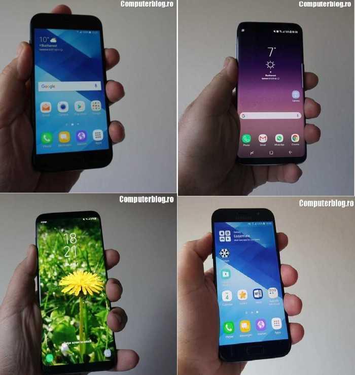 telefoane samsung - A3, a5, s8