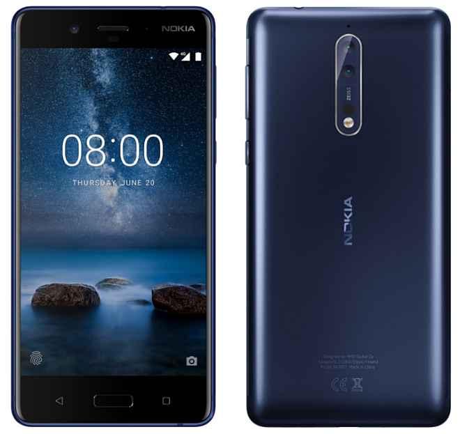 Nokia 8 lansarea