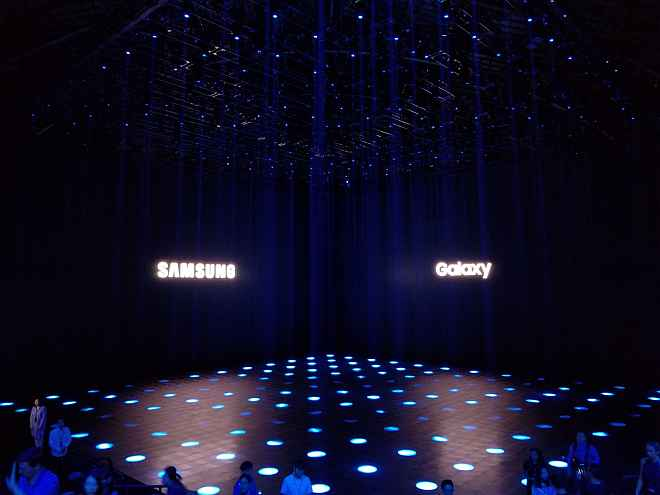 samsung galaxy note 8 launch event live text
