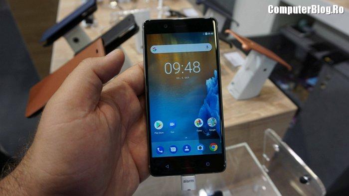Nokia 8 hands on at IFA Berlin 2017