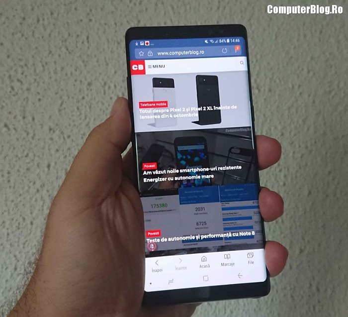 review samsung galaxy note 8 - 129412481