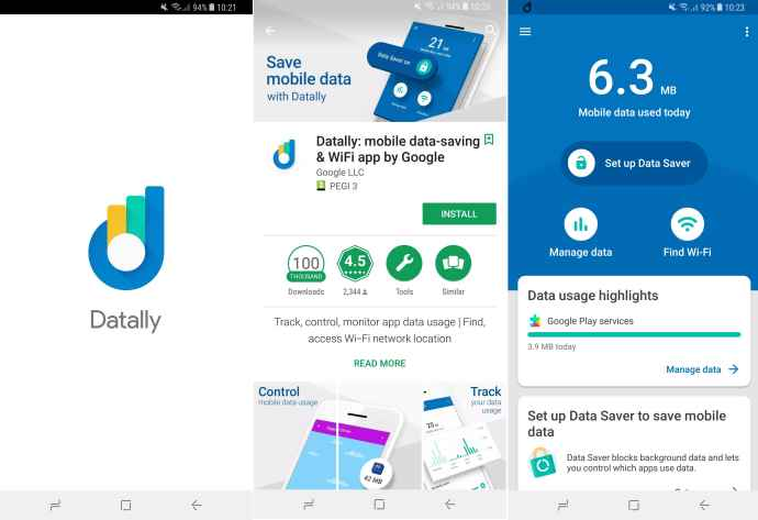 datally google android app-min
