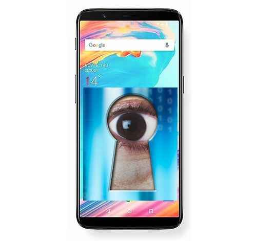 oneplus 5t spying users