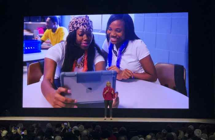 apple event educational ipads