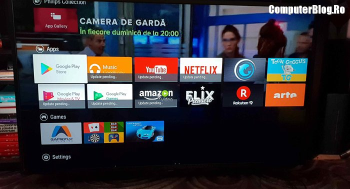 Am testat Philips 7303: Smart TV cu Android - ComputerBlog ro