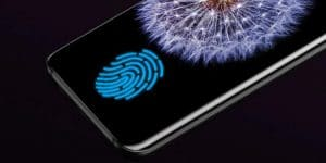 samsung galaxy s10 fingerprint scanner display