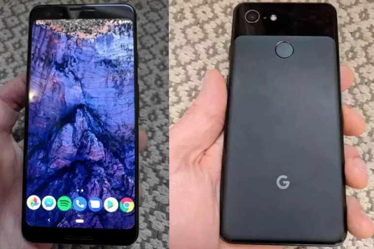 Googel Pixel 3 render