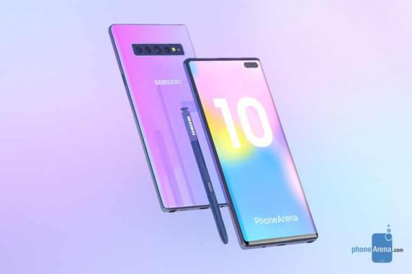 Samsung Galaxy Note 10- 3D renders Phone Arena