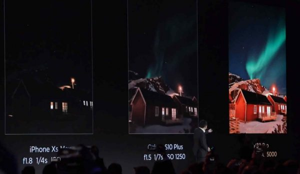 comapratie P30 Pro vs S10 Plus vs iphone Xs Max