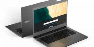 """Acer a prezentat în cadrul evenimentului anual next@acer două noi modele Chromebook: Acer Chromebook 715 și Acer Chromebook 714, concepute pentru a ajuta angajații să lucreze în cloud mai sigur și mai eficient. Ambele Chromebook-uri au un șasiu premium din aluminiu care oferă durabilitate militară (U.S. MIL-STD 810G), precum și un cititor de amprentă integrat și certificare Citrix Ready. În plus, noile Chromebook-uri Acer oferă celor care lucrează în cloud unelte de creștere a productivității care îi vor ajuta să lucreze mai eficient, display-uri Full HD, procesoare Intel® Core™ până la a 8-a generație pentru performanțe mobile excepționale și până la 12 ore durată de viață a baterieii. """"Prin adăugarea unui șasiu premium durabil și a cititorului de amprentă integrat pe noile Chromebook-uri, Acer îmbunătățește securitatea și fiabilitatea acestor dispozitive"""", a declarat James Lin,General Manager, Notebooks, IT Product Business, Acer Inc, IT Products Business at Acer. """"Angajații de toate tipurile - din corporații, birouri medii și mici sau din mediul educațional - au nevoie de dispozitive fiabile și performante, care să le protejeze datele, să funcționeze impecabil și să arate excelent. Noile Chromebook-uri Acer se potrivesc perfect acestei descrieri."""" Protecție Premium: Design durabil din aluminiu cu cititor de amprentă Noile laptopuri Acer Chromebook 715 și Chromebook 714 au un șasiu rezistent, din aluminiu, care arată bine pe un front desk, fiind ideale pentru companiile ce oferă servicii orientate către client, precum și în deplasare, alături de angajații care efectuează vizite la clienți. Designul rezistent oferă protecție militară (la standard MIL-STD 810G), astfel încât să poată rezista unor căderi de până la 122 cm și unei forțe de până la 60 kg. Șasiul din aluminiu anodizat face față uzurii zilnice, rezistă loviturilor și zgârieturilor, pentru a-și menține aspectul premium și elegant. Touchpad-ul Corning® Gorilla® Glass permite o navigare ușoară prin aplicați"""
