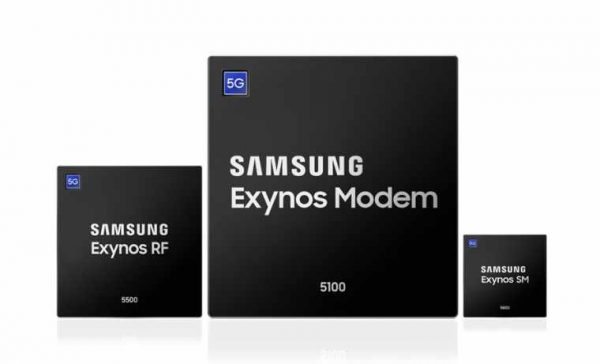 Samsung 5G Multi-mode Exynos Chipsets (1)