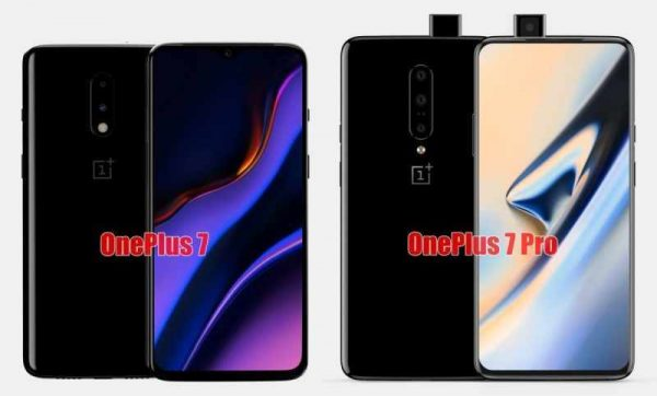 oneplus 7 and oneplus7pro