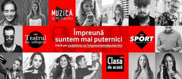 Vodafone impreuna concerte live