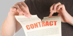 reziliere contract