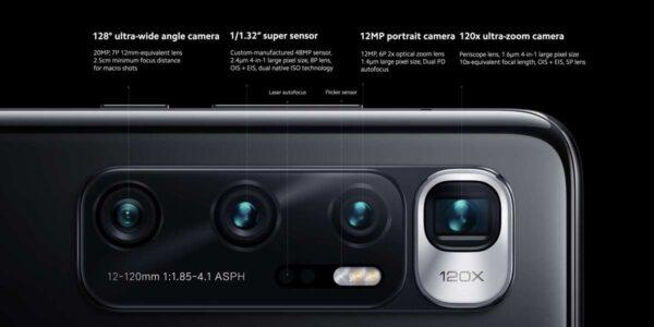 10 ultra especificaciones cámara