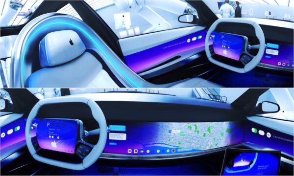 masina apple eletrica autonoma concept design