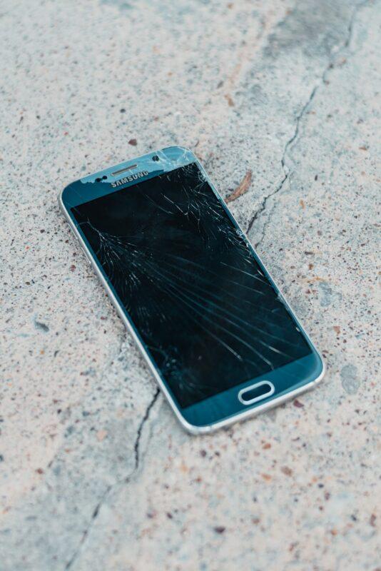 telefon ecran spart