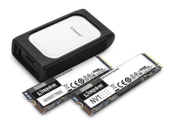 SSD Kingston NVMe PCIe 4.0 + un SSD extern