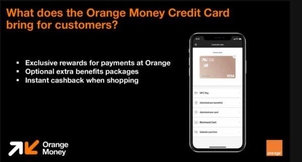 Orange Money lansează cardul de credit