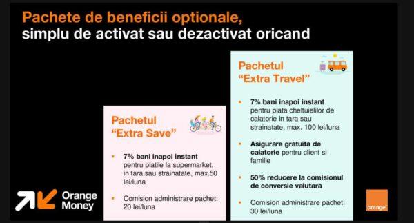 Orange Money credit card beneficii opționale
