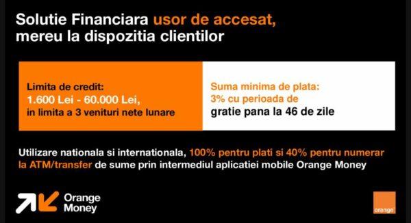 Orange Money card de credit detalii
