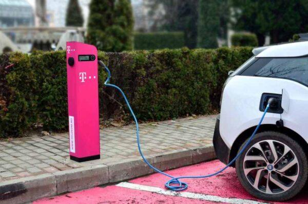 Statii de incarcare masini electrice Telekom