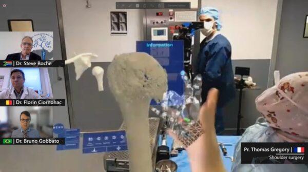 operatie chirurgicala Hololens 2