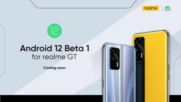 android 12 pe realme gt