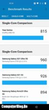 benchmark OnePlus Nord 2 5G