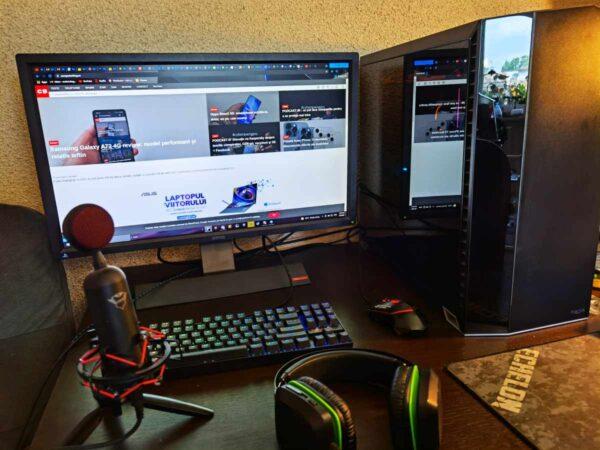 sistem desktop pc de gaming 2021