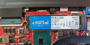 SSD Crucial P2 M.2 NVMe
