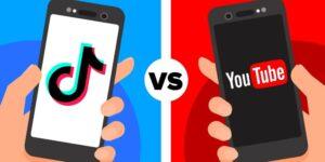 smartphone tiktok youtube