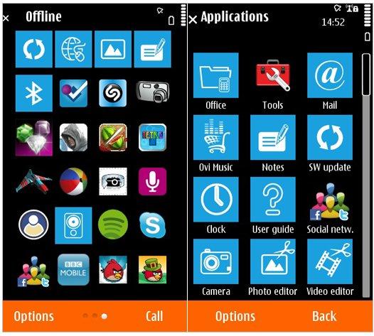 Nokia Symbian WP7