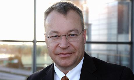 Stephen Elop, CEO Nokia
