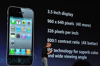 Jobs / iPhone 4 - Engadget