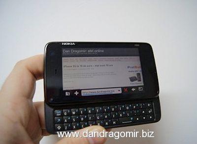 Nokia N900 browser